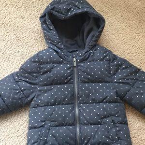 5t Girls puffer winter coat